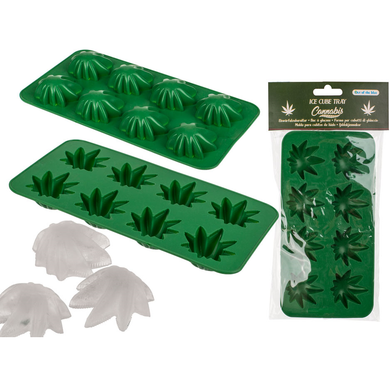 Cannabis Leaf Weed Ice Cube Tray