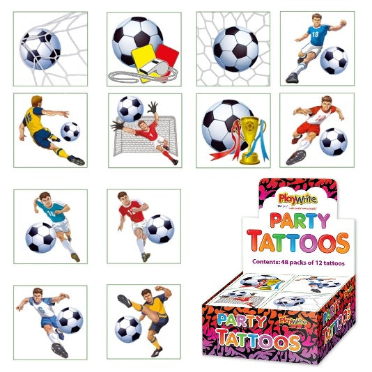 Football Temporary Tattoos