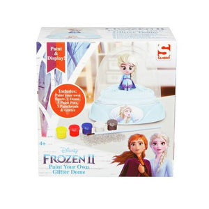 Disney Frozen 2 Paint Your Own Glitter Dome