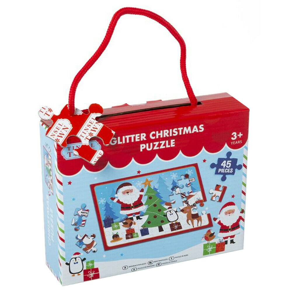 Glitter Christmas Puzzle 45 Piece