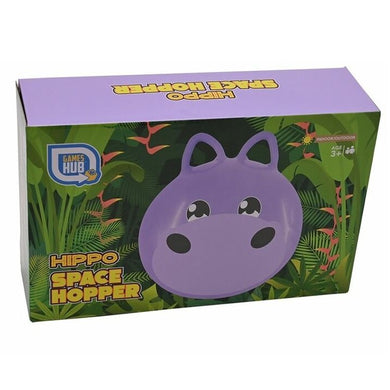 Inflatable Hippo Space Hopper