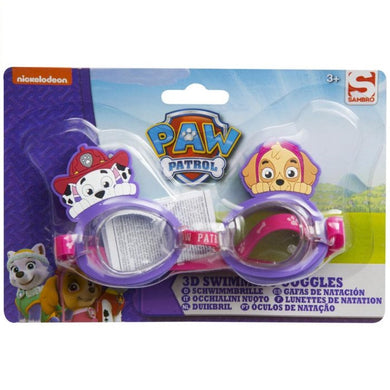 Paw Patrol Girls 3D Swimming Goggles
