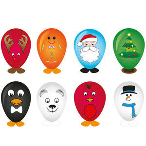 Xmas Balloon Heads