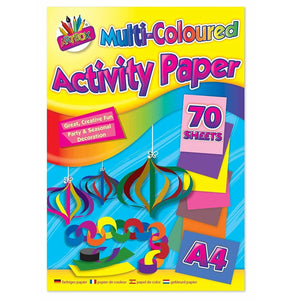 Multi Coloured Activity Pad