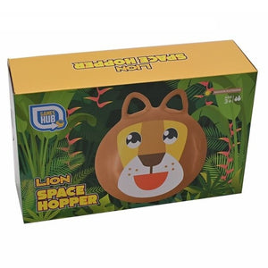 Inflatable Lion Space Hopper