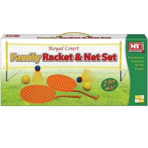 Family Racket & Net Set