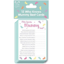 Who Knows Mummy Best Cards
