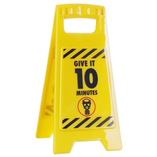 """Give it 10"" Warning Sign"