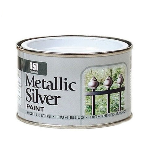 Metallic Silver Paint