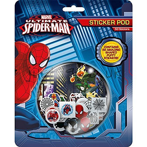 Ultimate Spiderman Sticker Pod