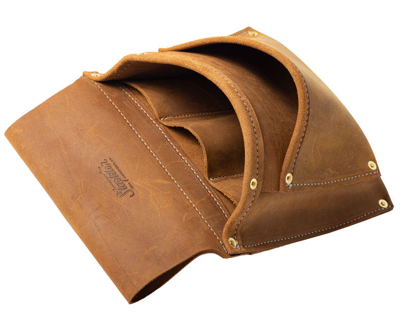 Two Pocket Tool Pouch | Tobacco