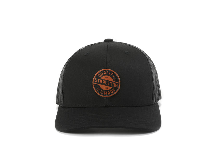 Stapleton Trucker | Black