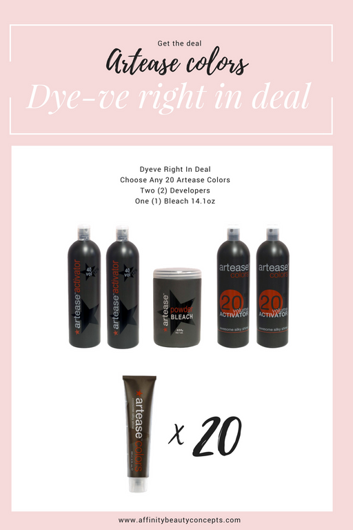Dye-ve Right In Artease Promotion | Over 30% Savings