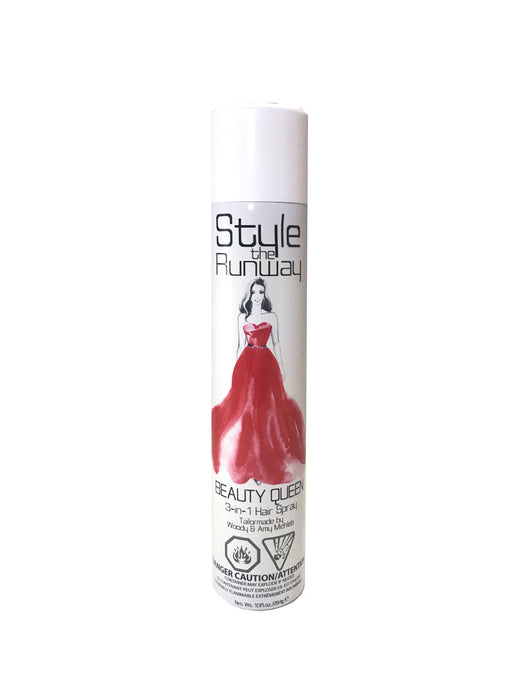 Style The Runway - Beauty Queen 3-in-1 Hair Spray 10oz