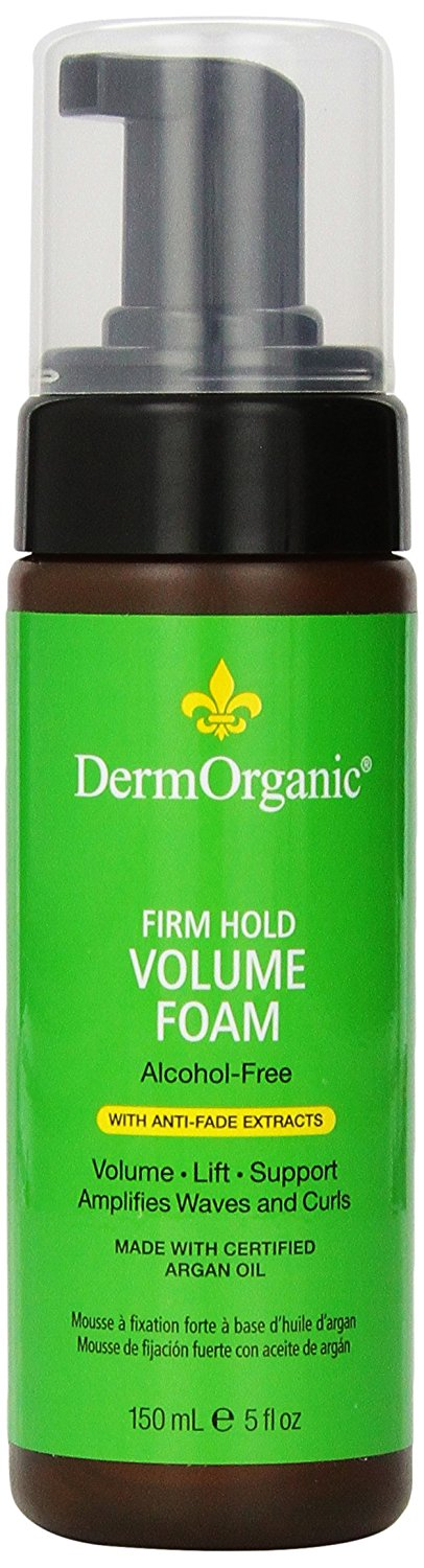 Derm Organic Firm Hold Volume Foam 5oz