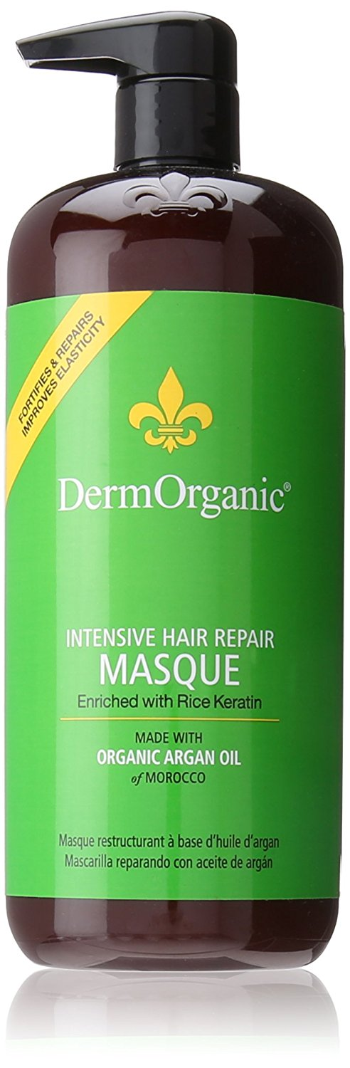 Derm Organic Masque Intensive Hair Repair 70% Organic 33.8ozoz