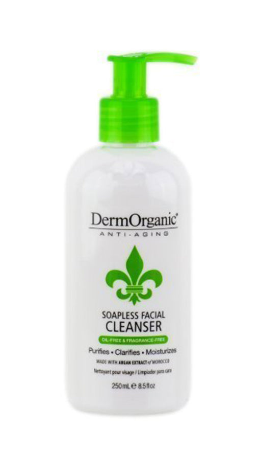 Derm Organic Anti-Aging Soapless Facial Cleanser 8.5oz