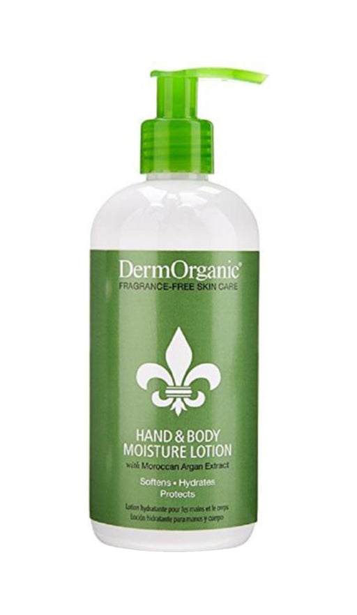 Derm Organic Anti-Aging Hand & Body Moisture Lotion 12oz