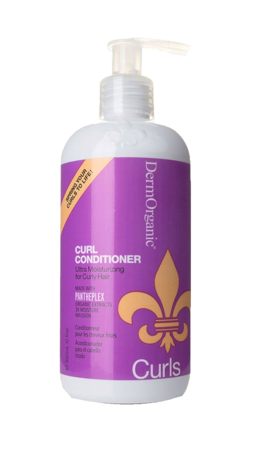 DermOrganic 70% Organic Cucumber Curl Conditioner 12oz
