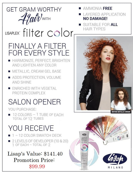 Lisap Filter Color Promotion