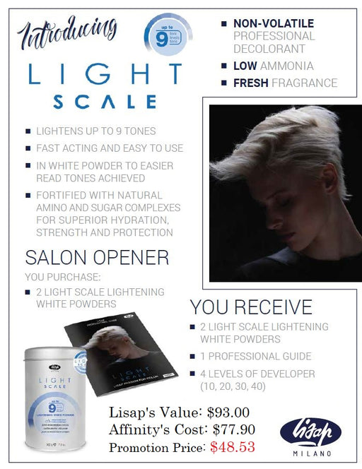 Lisap Light Scale Bleach Promotion