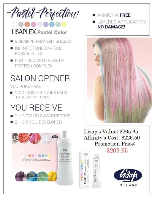Lisap Pastel Color Promotion