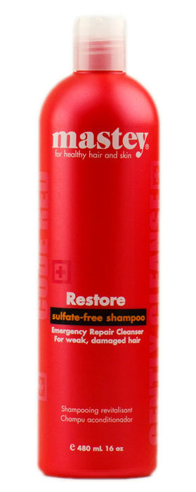 Mastey Restore Shampoo For Damaged Hair 16oz