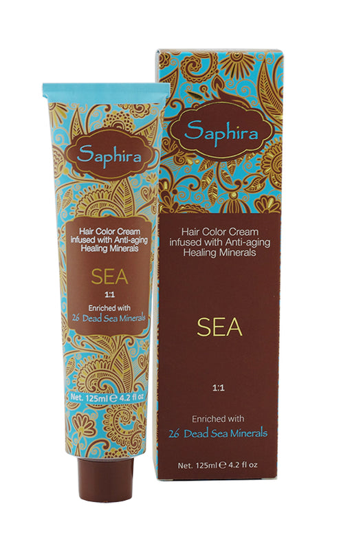 Sea Color - 6.64 Dark Blonde Red Copper 4.2oz
