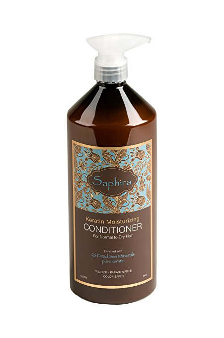 Saphira - Keratin Moisturizing Conditioner 34oz