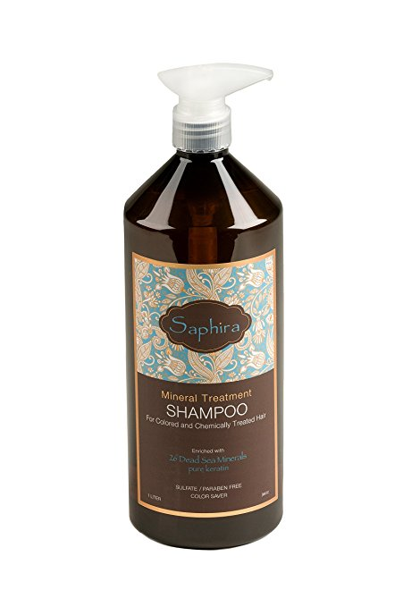 Saphira - Mineral Color Care Treatment Shampoo 34oz
