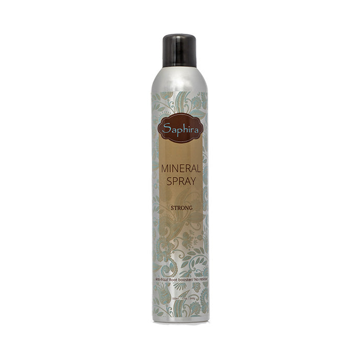 Saphira - Strong Hold Mineral Hair Spray 17oz