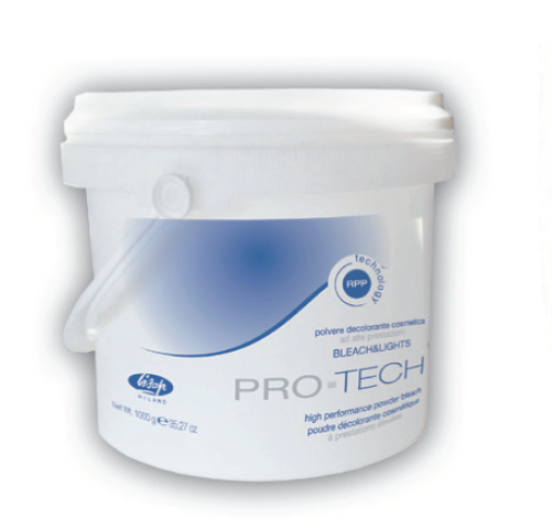 Lisap Milano - Bleach & Lights PRO TECH (blue) high performance powder bleach