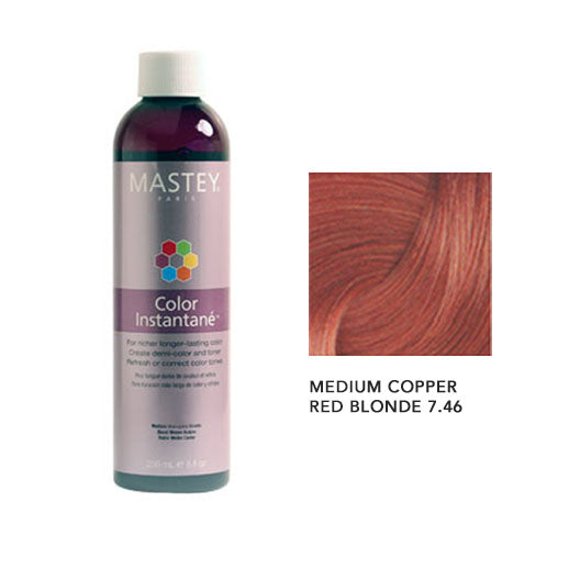 Mastey Color Instantane Medium Copper Red Blonde 7.46