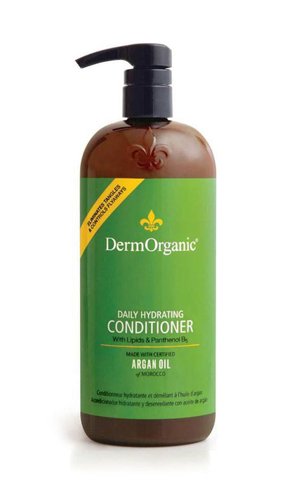 Derm Organic Daily Hydrating Conditioner 70% Organic 33.8oz