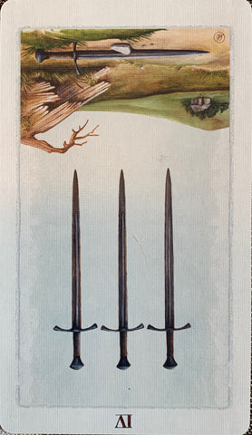 Monday: Four of Swords, reversed