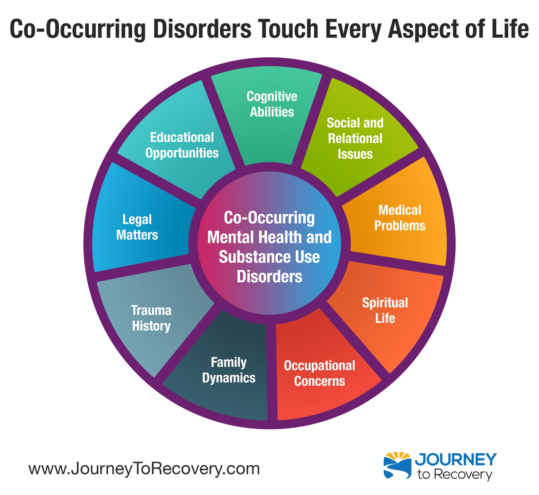 Infographic - Co-Occurring Disorders Touch Every Aspect of Life