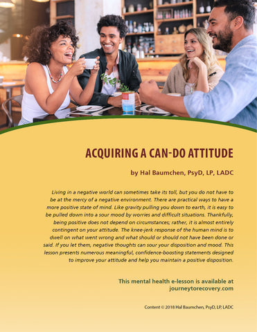 Acquiring a Can-Do Attitude