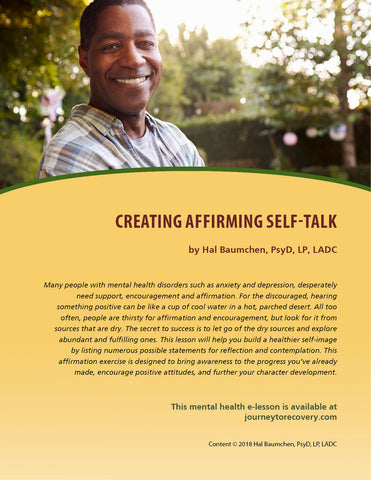 Creating Affirming Self-Talk