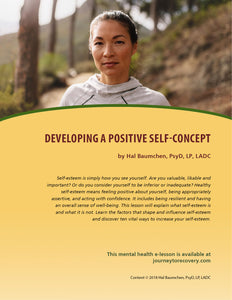 Developing a Positive Self-Concept