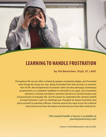Learning to Handle Frustration