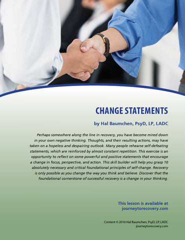 Change Statements