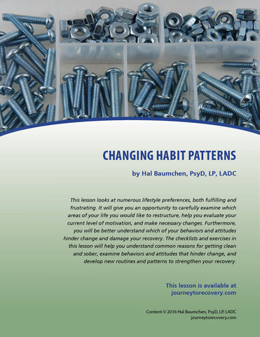 Changing Habit Patterns