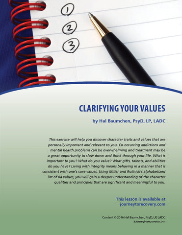 Clarifying Your Values