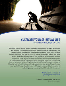 Cultivate Your Spiritual Life
