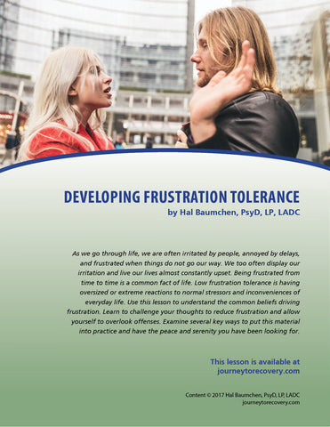 Developing Frustration Tolerance