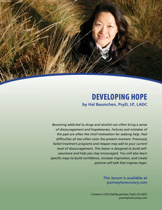 Developing Hope