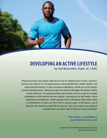 Developing an Active Lifestyle