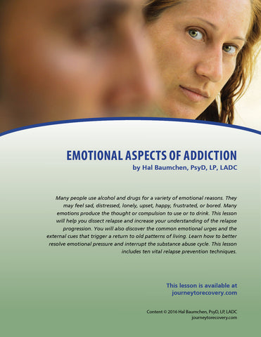 Emotional Aspects of Addiction