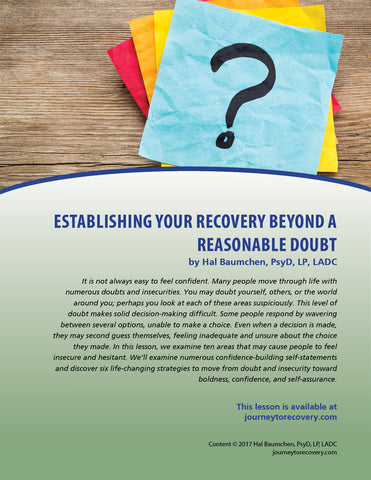 Establishing Your Recovery Beyond a Reasonable Doubt