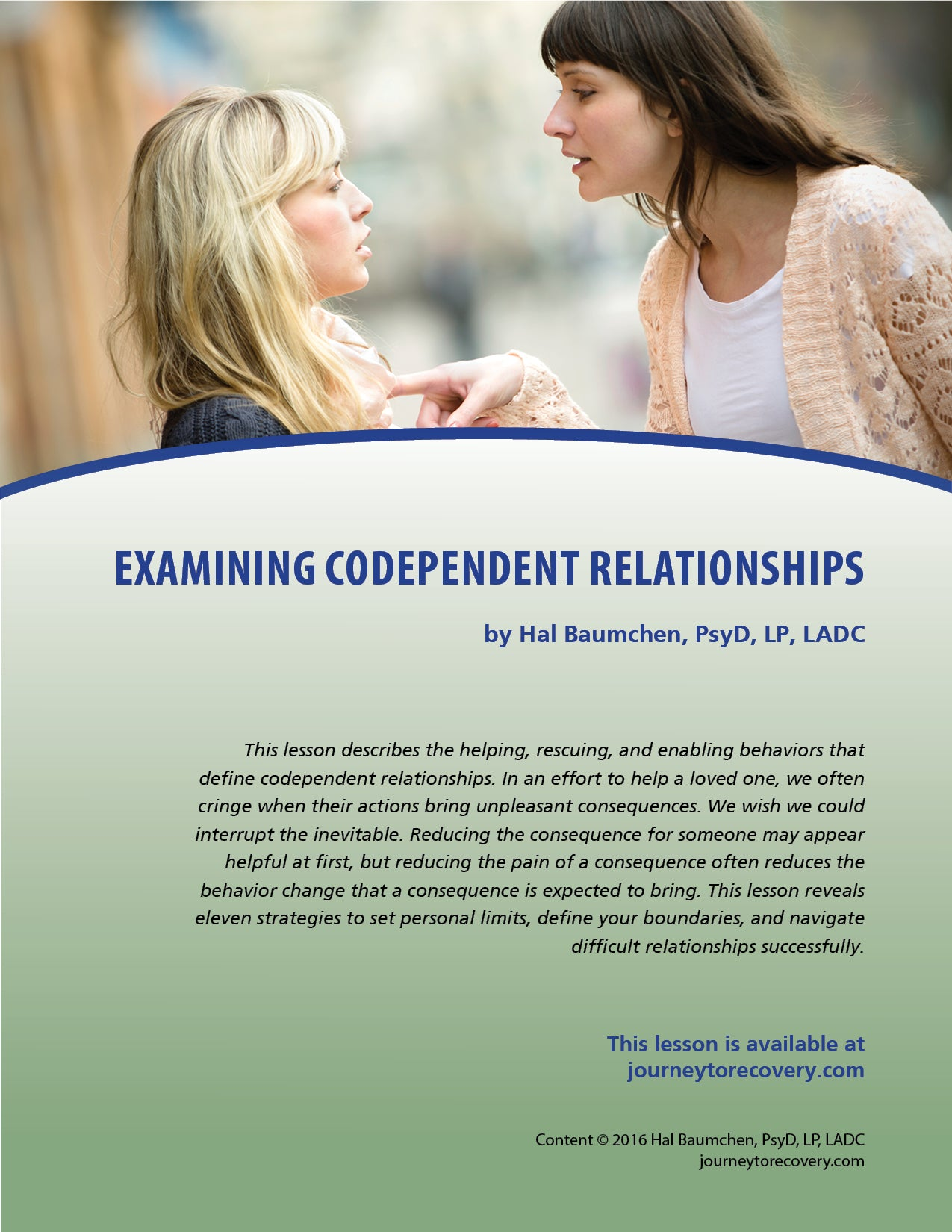 Examining Codependent Relationships